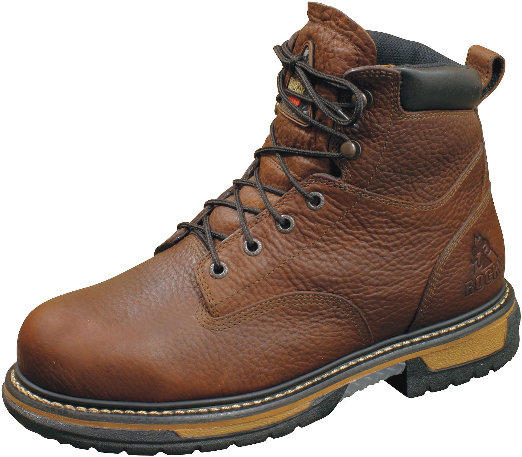 Rocky Shoes & Boots - 5696-11.5W - Work Boots, Pln, Men, 11-1/2W, Brown, 1PR at Sears.com