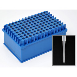 PerkinElmer - 111623 - 200 uL - Wide Bore, Sterile 96 Rack Tips