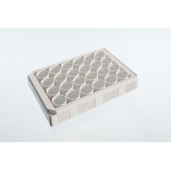 PerkinElmer - 1450-602 - VisiPlate-24, White 24-well Microplate with Clear Bottom, 68 Plates