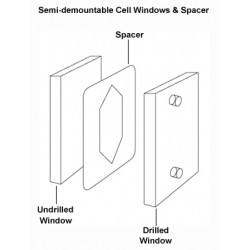 PerkinElmer - L1270301 - Lead Spacers for Semi-Demountable Cells, Thickness: 0.025mm, Pkg 10