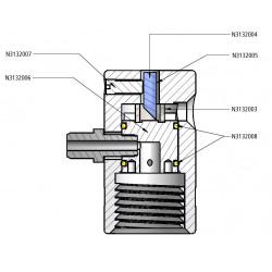 PerkinElmer - N3132007 - Titan Dpc Clamp Screw 75ml