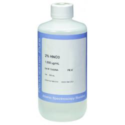 PerkinElmer - N9300100 - Aluminum (Al) Pure Single-Element Standard, 1, 000 µg/mL/L, 2% HNO3, 500 mL