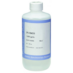 PerkinElmer - N9300151 - Silver (Ag) Pure Single-Element Standard, 1, 000 µg/mL, 2% HNO3, 500 mL