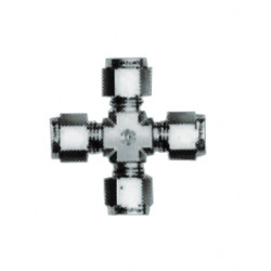 PerkinElmer - N9301259 - Brass Cross Union, Size: 1/8in