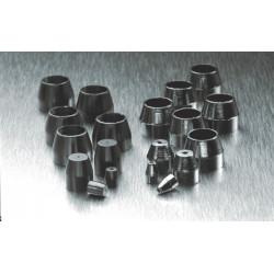 PerkinElmer - N9302081 - Graphite/Vespel Ferrule, Nut Size: 1/8in, Inner Diameter: 1/8in