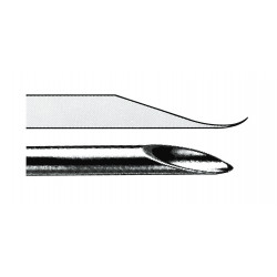 PerkinElmer - N9302220 - GC Syringe 10µL Replacement Needle, Point Style: 2, Gauge: 26S, Length: 7cm, Pkg 3