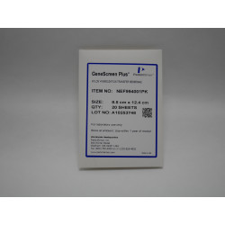 PerkinElmer - NEF994001PK - GeneScreen Plus Hybridization Transfer Membrane, 20 (8.5cm x 12.4cm) Sheets