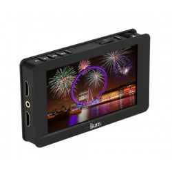 ikan - DH5E - Ikan 5 4K Signal Support & Touch Screen 1920 x 1080 HDMI On-Camera LCD Field Monitor w/ Canon LP-E6 & Sony L Battery Plates