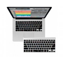Editors Keys - EK-CV-CLEAR-K57-USUK - Editors Keys Shortcut Keyboard Cover for MacBook and Wireless Keyboards
