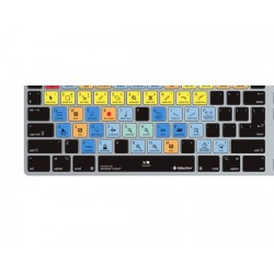 Editors Keys - EK-CV-CUB-M89-USUK - Editors Keys Steinberg Cubase Silicone Keyboard Cover for iMac Ultra-Thin Wired Keyboards