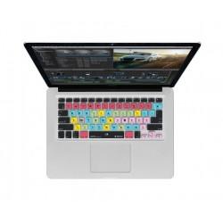 Editors Keys - EK-CV-FCPX-K57-USUK - Editors Keys Final Cut Pro X Keyboard Cover for MacBook and Wireless Keyboards