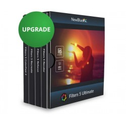 NewBlueFX - FILTERS5ULTIMATEUP1 - NewBlue Filters 5 Ultimate Upgrade from ColorFast Recreate Refocus Recolor