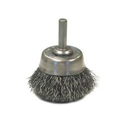 Anderson Products - 06621 - Crimped Wire Cup Brushes - Hollow End - 10 pack