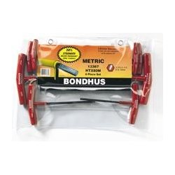 Bondhus - 15348 - Htx60m-9 6-pc. Hex T-handle Set