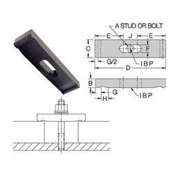Carr Lane - CL23BCS - Double-End Clamp Straps