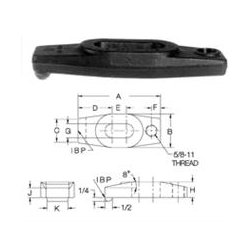Carr Lane - CL4FRCS - Forged Straight Clamp Straps