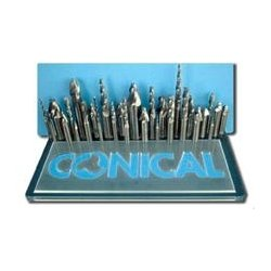 Conical Tool - T404C - Conical Carbide Tapered End Mills