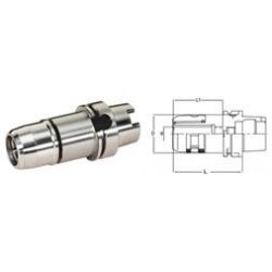 Lyndex-Nikken - HSK100A-C1.1/4-115G - Ultra-Lock Milling Chucks, High Speed