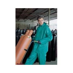 Mcr Safety - 3882s - Chem Suit Pvc/nylon Green S (each)