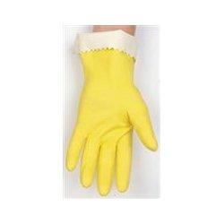 Mcr Safety - 5250m - Gloves Latex Flocked M Pk12 (pack Of 12)