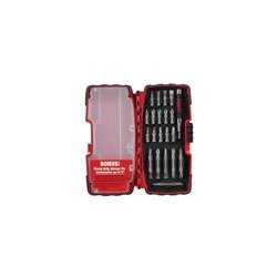 "Milwaukee Electric Tool - 48-32-0221 - Screwdriver Bit Set, 21 Pieces, 1/4"" Shank"