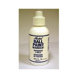 Markal - 434-84620 - Bpm-white Ball Paint Marker