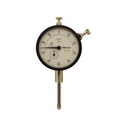 Mitutoyo - 2804S-10 - Continuous Reading Dial Indicator, AGD 2, 2.240 Dial Size, 0 to 0.050 Range