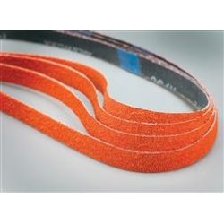 Saint Gobain - 69957398025 - Sanding Belt, 24 Length, 1/2 Width, Ceramic, 60 Grit, Medium, Coated, R980P Blaze, EA1
