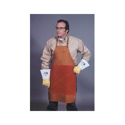 Bib Apron With Belly Patch