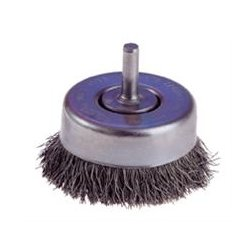 Osborn / Jason - 32006 - Crimped Wire Cup Brush With 1/4 Shank - Light Duty - 6 pack