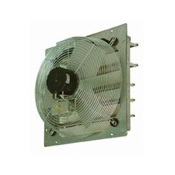 "TPI - CE12DS - 12"" Shutter Mounted Exhaust Fan Direct Driv"