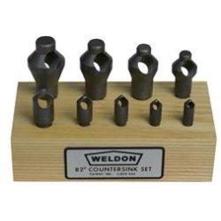 Countersinks and Deburring Tools Set 2c
