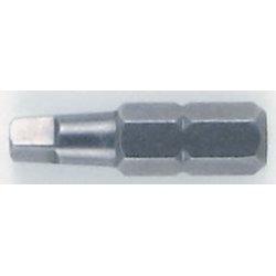 Wiha Quality Tools - 71802 - Square Tip Insert Bit - #2 x 25mm (1)