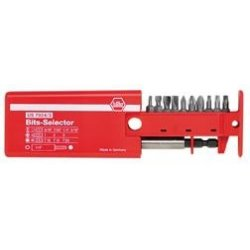 Wiha Quality Tools - 79243 - 11 Piece Bit Selector with Slotted, Phillips & Torx Bits