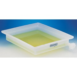 "Bel-Art - 162930000 - TRAY, LDPE, 21-1/2""X25-1/2""X4"", WITH/FAUCET"
