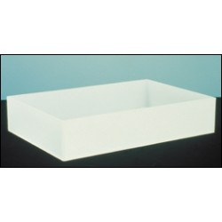"Bel-Art - 163002020 - TRAY, PP, 20""X20""X6"""