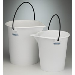 Bel-Art - 168060000 - Pail, Pe, Heavy-duty, 15 Liter