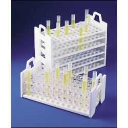 Bel-Art - 188602630 - Scienceware 18860-2630 Test Tube Rack, PP, for 26 to 30 mm OD Tubes