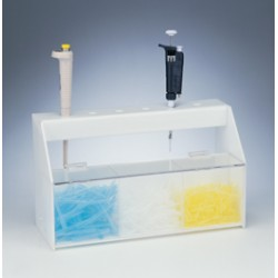 Bel-Art - 189619166 - Station, Acrylic, Pipettor/tip Storage
