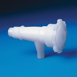 "Bel-Art - 308510000 - Faucet, Pe/teflon, 1/2"" Npt"