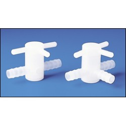 Bel-Art - 308880010 - STOPCOCK PVDF ID 3WAY 10MM (Each)