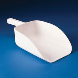 Bel-Art - 367580000 - SCOOP WHITE STYRENE 6/BG (Bag of 6)