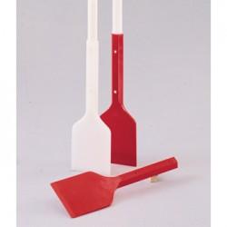 Bel-Art - 368300000 - RED HDPE SCRAPER W/10 SHANK (Each)