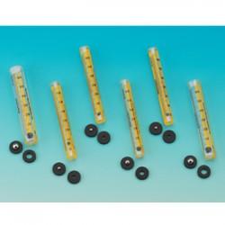Bel-Art - 404000015 - Riteflow, Flowmeter, Plain Ends, 65mm, Sz3