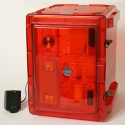 Bel-Art - 420731228 - Secador 3.0 Auto Desiccator, Amber, 230v