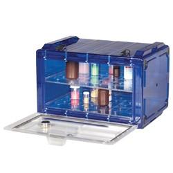 Bel-Art - 420740007 - Secador 4.0 Desiccator, Horizontal, Blue