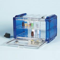 Bel-Art - 420740116 - Secador Autodesiccator, Horiz, 120v Blue