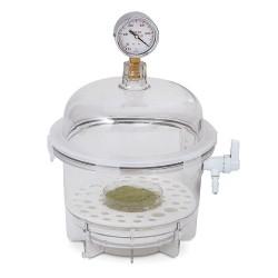 Bel-Art - 424002021 - Scienceware Desiccator, Vac, Round, 6l