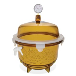 Bel-Art - 424002241 - Scienceware Desiccator, Vac, Round 20l, Uv