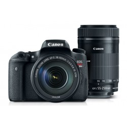 Canon - 0020C020AA - EOS Rebel T6s EF-S 18-135mm IS STM Lens Kit EF-S 55-250mm IS STM Refurbished